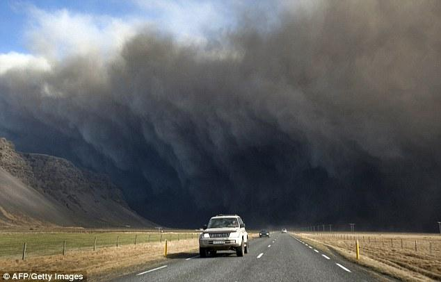 As people in Britain and the rest of Europe are caught up with the unprecedented travel chaos caused by the eruption, those in Iceland are living with blankets of ash falling from the sky and fears of volcanic floods.