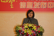 上海相宜本草化妆品股份有限公司市场部总经理李迎接受采访
