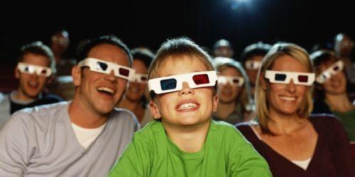 3d电影效果的经历,走进影院前