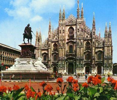 意大利米蘭風景圖片內容|意大利米蘭風景圖片版面設計