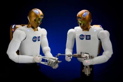 NASA is sending a human-like robot made jointly with General Motors Co. (GM) to the International Space Station this fall, GM said on its website Wednesday. (File Photo)