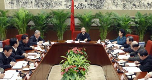 Chinese central government approves blueprint for national chinese premier wen jiabao c presides over a meeting of the national science technology and education leading group to deliberate over the draft blueprint malvernweather Choice Image