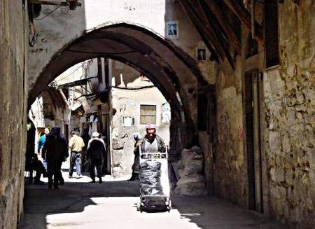 StreetsceneinDamascus'oldcity
