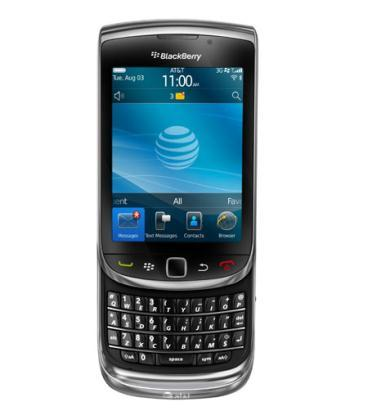 Handout image of Research In Motion's new BlackBerry Torch smartphone unveiled in New York August 3, 2010. The BlackBerry Torch will go on sale in the United States on August 12 for $199.99 with a two-year contract with AT&T Inc. and easier-to-use Web browser, RIM said on Tuesday. (Xinhua/Reuters Photo)