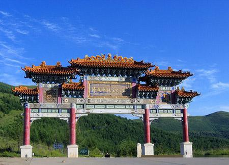 Mount Wutai (五台山 Wutai Shan) is a Sacred Buddhist mountain, and a UNESCO World Heritage Site in Shanxi Province in China.