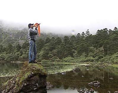 走近科学:神秘的石人湖