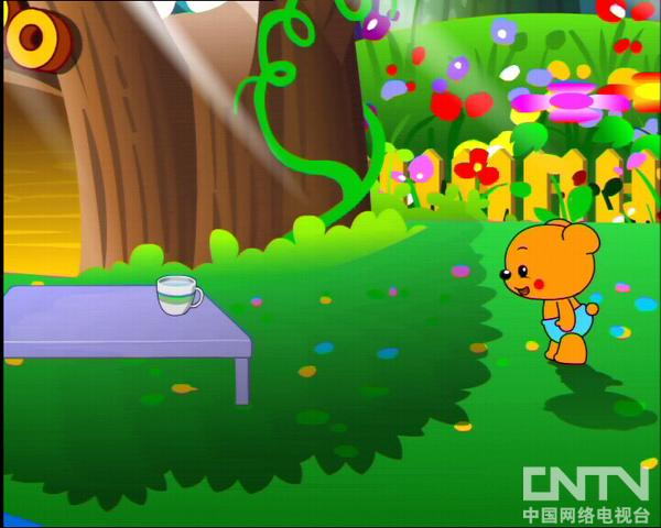 MiniTeddy学英语Teddy和影子