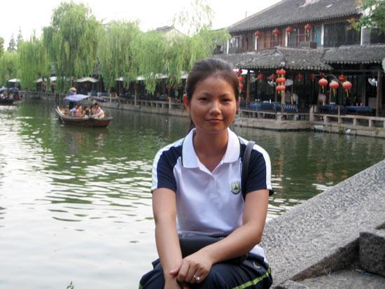 海南省优秀志愿者候选人:黄娜