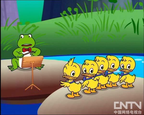 miniteddy学英语 池塘音乐会