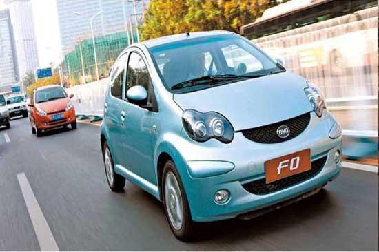 风云车2011 最佳国产微型轿车-比亚迪f0