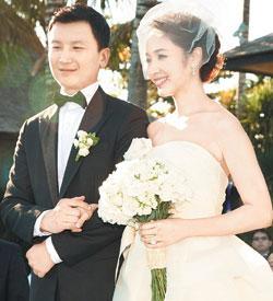 侯佩岑17日在巴厘岛完婚