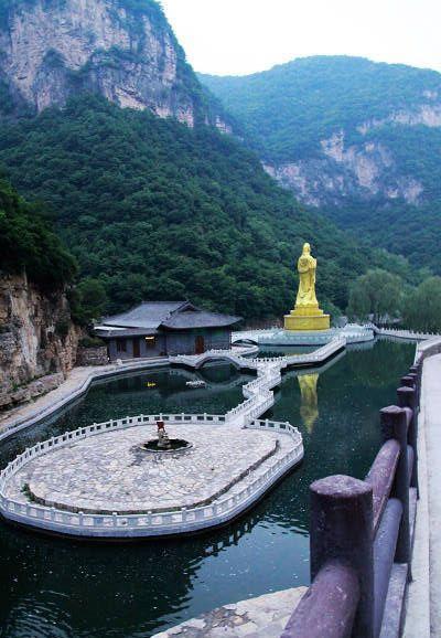 《赵氏孤儿》:山西藏山风景区
