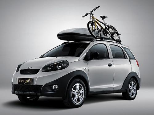 瑞麒x1   本次车展全新推出的舒享型是在原瑞麒x1舒适型的高清图片
