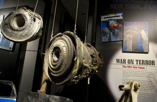Artifacts from the 911 Memorial and Museum  Memorial