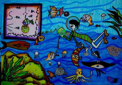 神秘的海底来电