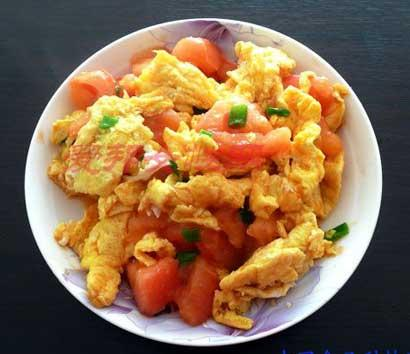 西红柿炒鸡蛋的九大神奇功效