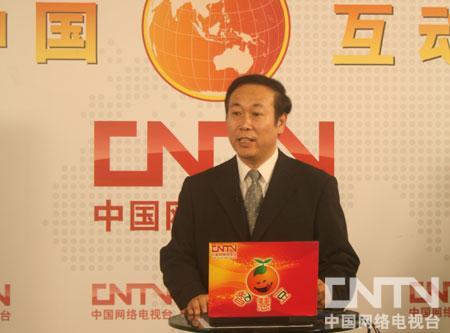 王玉起老师中国网络电视台现场谈数学