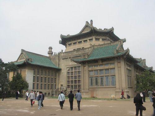 武汉大学校园风光