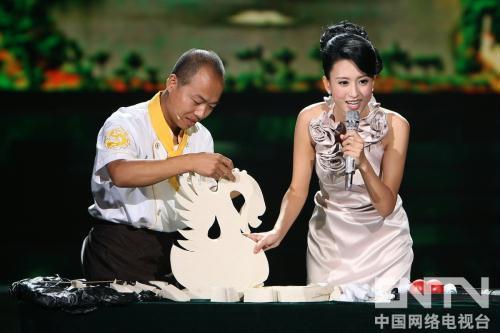 豆腐雕天鹅
