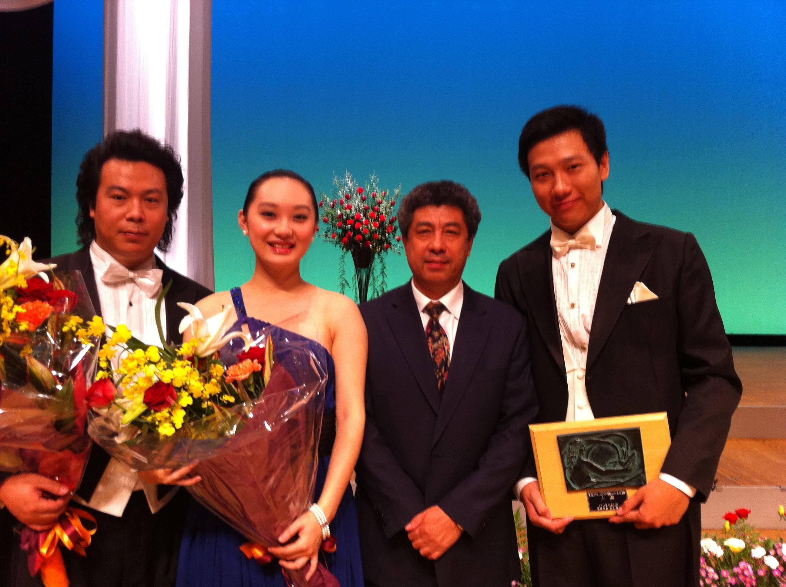 王宪林教授和他的学生们