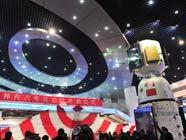 """Церемония открытия спускаемой капсулы """"Шэньчжоу-8"""" в Пекине"""