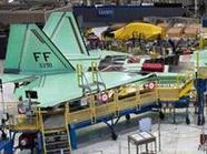 Производство передовых истребителей США и России