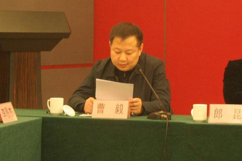 戏曲音乐频道副总监曹毅介绍《CCTV空中剧院》栏目制作、播出情况
