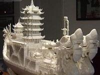 Un artesano chino celebra el Año del Dragón con un imponente trabajo