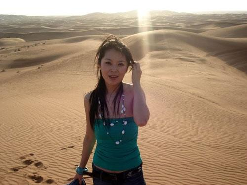 中国美女成为迪拜空姐的成长之路