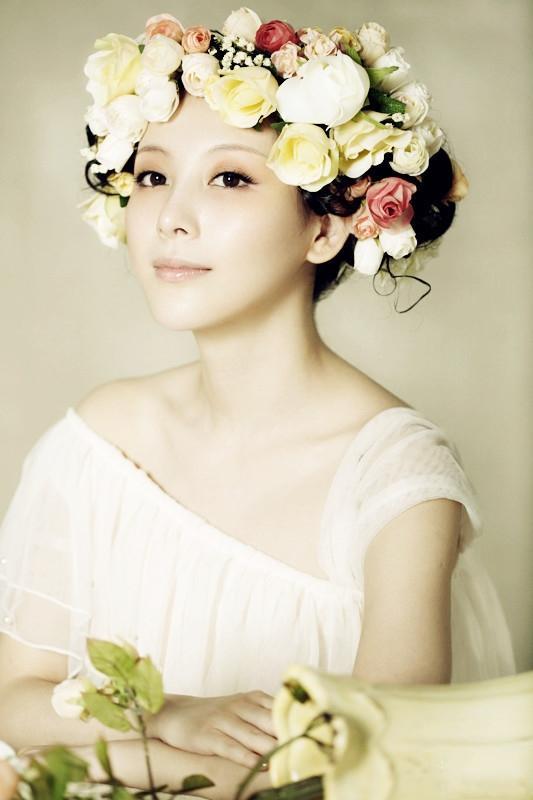 花团锦簇清新自然