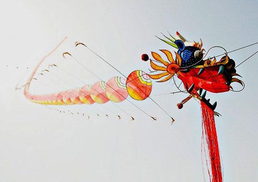 风筝    一般采用折叠结构