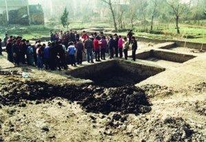 骆驼墩遗址发掘现场本版均为资料图片