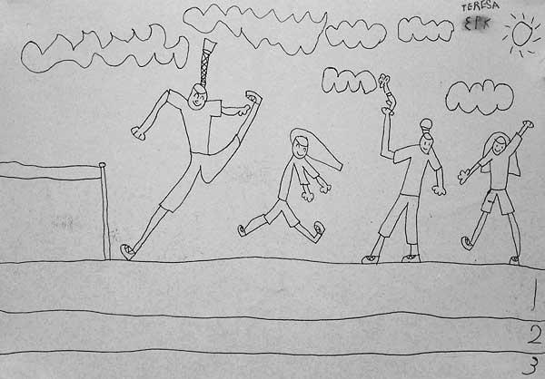 杨颖素描画步骤图