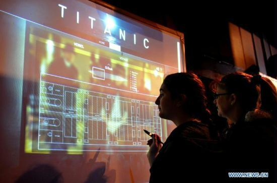 TITANIC EXHIBITION held in New York CCTV News - CNTV English