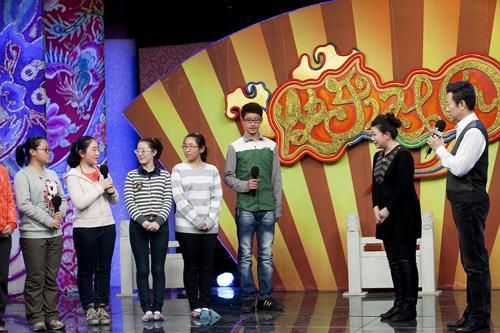 嘉宾康静教授小同学京剧中老旦的表演