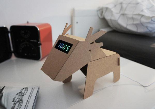 纸箱底部手工制作图解动物