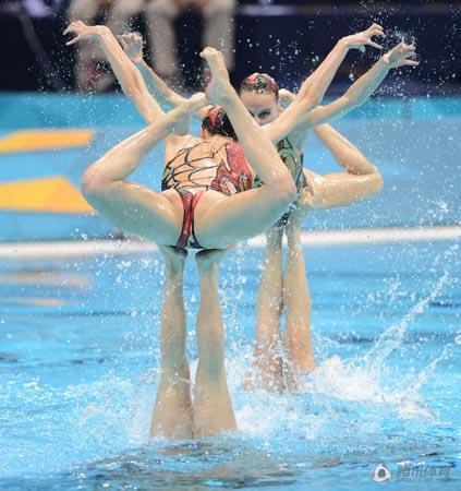 голое синхронное плавание голое
