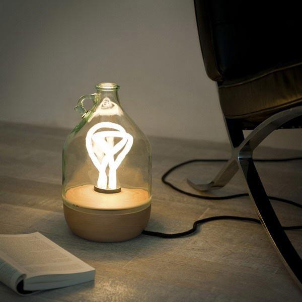 黛玛绿色环保台灯设计