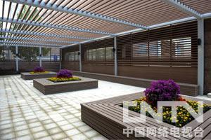 改造后的北京大学肿瘤医院东本门回廊