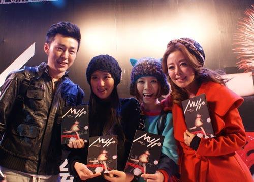 安又琪北京签唱