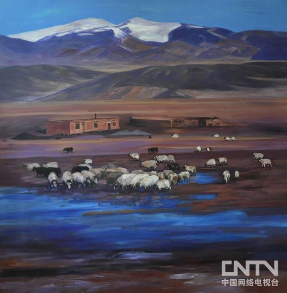 雪域穿越——相海进青藏高原油画风景展_艺术台_中国