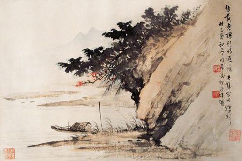 黄君壁与中国水墨画