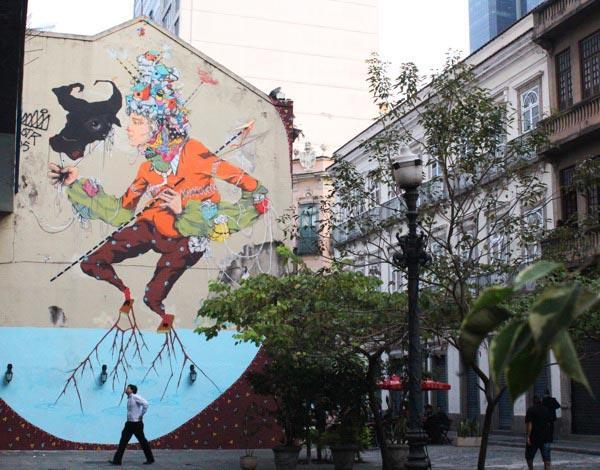 巴西创作人ACIDUM的涂鸦作品