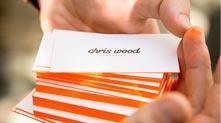 Chris Wood 个人名片设计