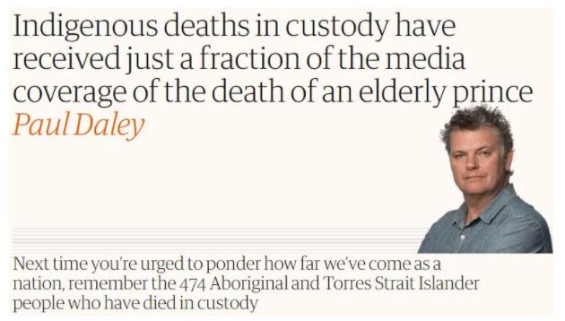 环球深观察丨澳大利亚土著人:另一部种族灭绝血泪史