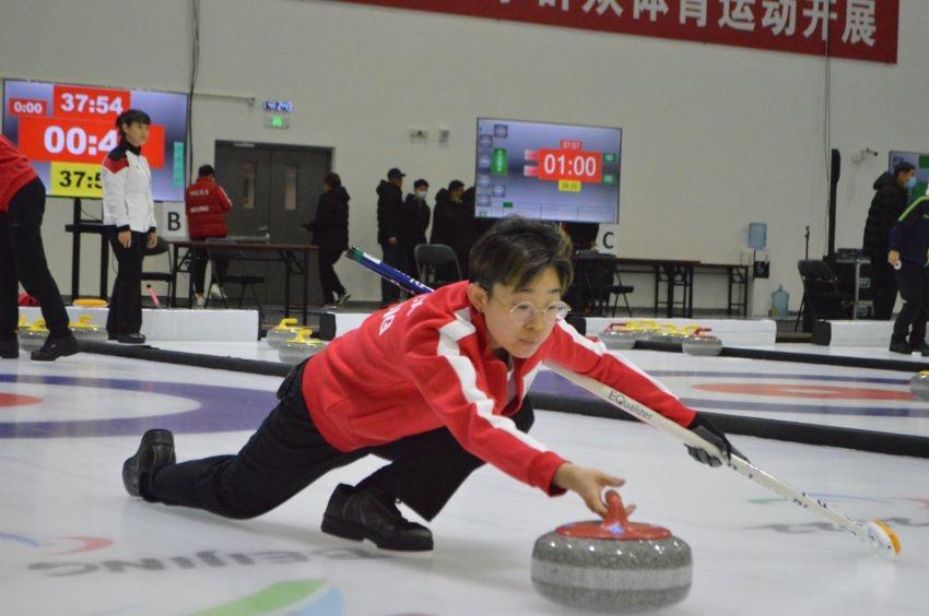 第十一届全国残疾人运动会冰壶项目比赛在京举行