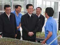 Presidente chino realiza una gira de inspección por provincia de Sichuan