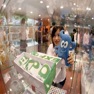 Los souvenirs de la Expo Mundial de Shanghai ya están a la venta en Beijing