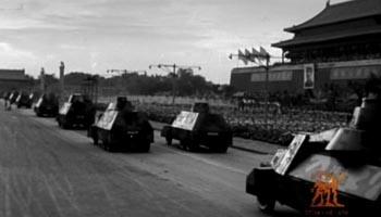 装甲部队受阅