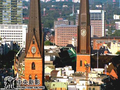 上海的姐妹城市――德国汉堡